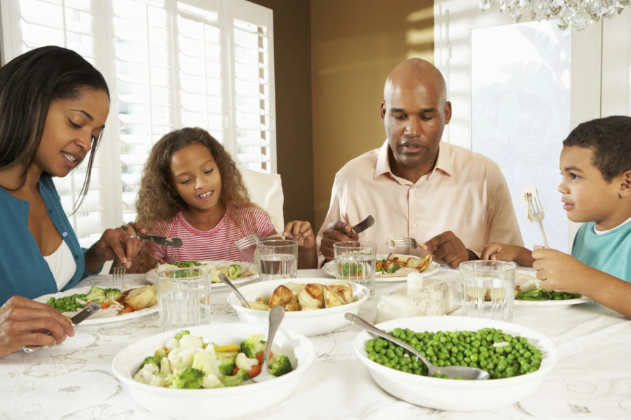 Family Who Eat Together Experience Success Together
